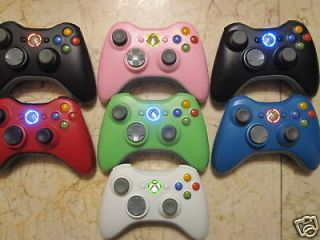 pink xbox 360 controller in Controllers & Attachments