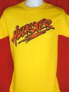 Yellow Hulkster Hulk Hogan T shirt New