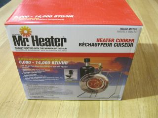 Mr. Heater Single Cooker Propane Heater   NEW IN BOX   Model# MH12C