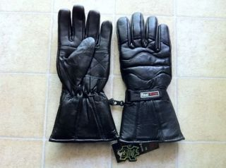 leather motorcycle gloves in Mens Accessories