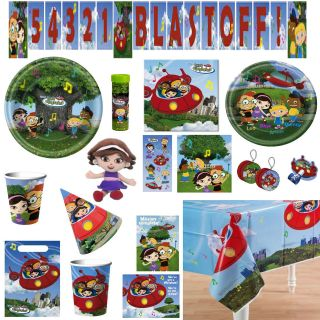 Disney LITTLE EINSTEINS Birthday PARTY Supplies ~ Create Your Own SET