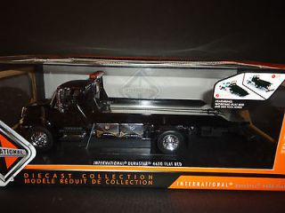 Jada International 4400 Durastar Flat bed Tow Truck Chrome Bed Black 1