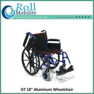 Roll GT Aluminum Wheelchair Quick Release Wheels 18 Seat   Fast