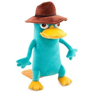 NEW Disney Perry the Platypus as Agent P 13 Phineas & Ferb Plush Toy