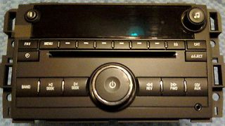 CD PLAYER RADIO GMC EXPRESS VAN SILVERADO 07 12 XM RADIO AUX IPOD/