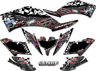 COBRA ECX70 ECX 70 GRAPHICS KIT ATV STICKERS DECALS DECO QUAD 4