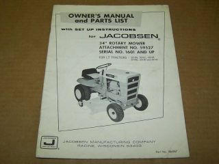 jacobsen mower deck