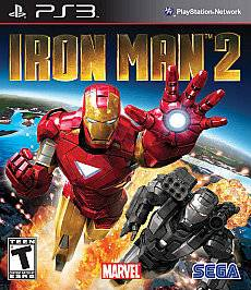 PS3 Iron Man 2 Ironman Suit up Two heroes New Sealed REGION FREE