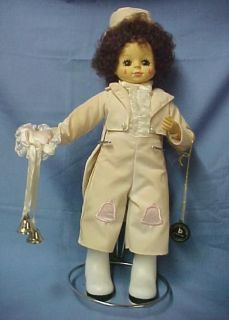 BRINNS Calendar Clown JUNE Doll 1988 Wedding Bells