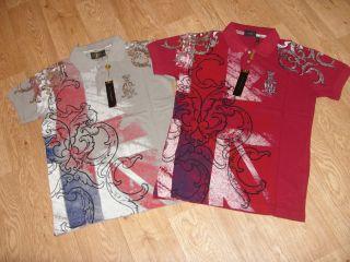 CHRISTIAN AUDIGIER Union Jack Polo Shirt BNWT (RRP £150) Style