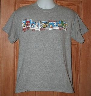 VINTAGE CHARLIE BROWN CHRISTMAS T SHIRT M PEANUTS GANG SNOOPY LUCY