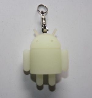 Google Android Reactor Glow In Dark Lovely Toy KeyChain