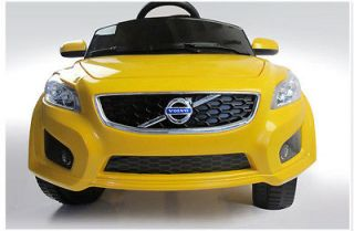 Volvo C30 Kids Baby Ride On Licensed Toy Car 6V Electric Power Wheel