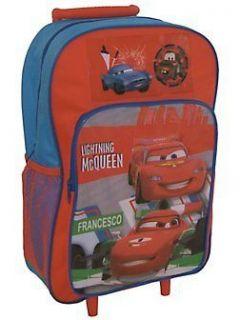 Cars DISNEY KIDS Trolley Backpack Bag Suitcase Luggage