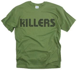 New The Killers Logo rock band design graphic men t shirt