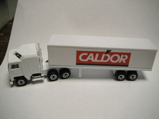 Special Limited Edition Matchbox Convoy Kenworth Box Truck Caldor