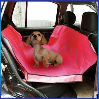 Waterproof Hammock Pet Dog Cat Car Seat Cover Mat Blanket Protector