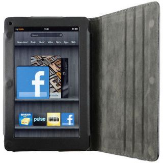 Leather Case Cover with Angles Stand for  Kindle Fire Tablet
