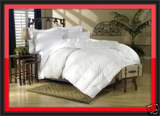 1200TC SIBERIAN GOOSE DOWN Comforter Full / Queen Size ( Model