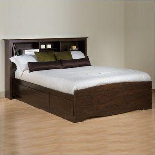 king platform storage bed in Beds & Mattresses