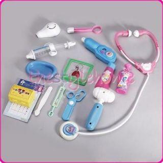 Kids Education Simulation Medical Kit Doctor Nurse Role Play Set