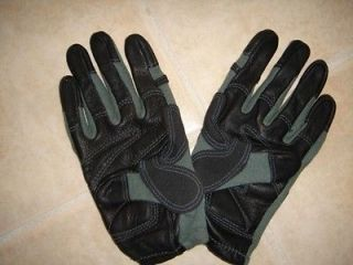 KEVLAR LEATHER ARMY COMBAT GLOVE FOILAGE GREEN XXLARGE