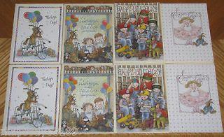 Sherri Buck Baldwin Lang Birthday Card Lot boys girls children
