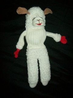 lamb chop hand puppet in Lamb Chop, Shari Lewis