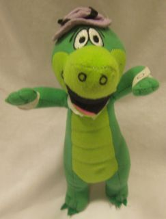 Barbera Wally Gator Plush 10 Stuffed Animal Toy Factory Crocodile