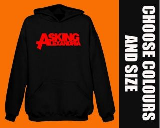 ASKING ALEXANDRIA Hoodie BNWT metal rock hoody S   2XL stocking