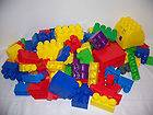 MEGA BLOKS LEGO QUATRO SIZE 76 BUILDING BLOCKS CAR BAG