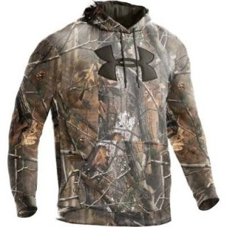 Armour Mens Big Logo Camo Hoody 1220613 Mossy Oak Size 2X Large NWT