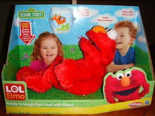 Newly listed Sesame Street LOL Elmo ~ Get Ready to Lough Out Loud