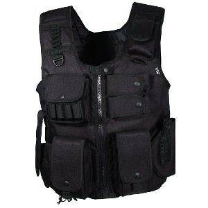 UTG Law Enforcement SWAT Police Tactical Vest FAST, NEW