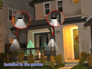 16 LED Solar Powered Motion Sensor Detector Outdoor Wall Light Home
