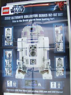 LEGO STAR WARS over 10 years of ultimate sets OFFICIAL #ed PRINT
