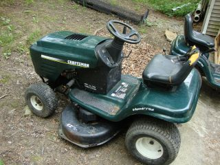 craftsman riding mower for parts    not complete we are parting it out