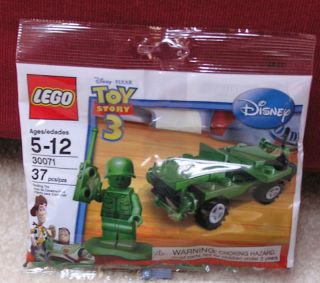 Lego CITY 30071 Toy Story 3 Soldier Jeep Mini Set NRFP