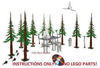 Instructions Custom Endor Star Wars Base Lego 10212