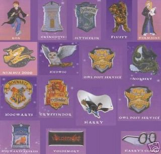 HARRY POTTER RARE ARTHER PRICE COLLECTOR PIN BADGES NOW RETIRED ONLY