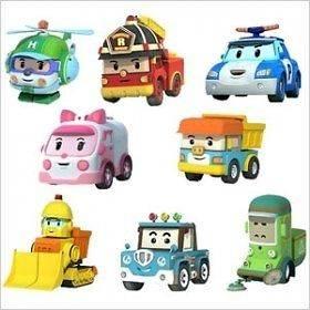 Robocar Poli Die Casting Building Toys   Poli (Police Car) [Godosoft]
