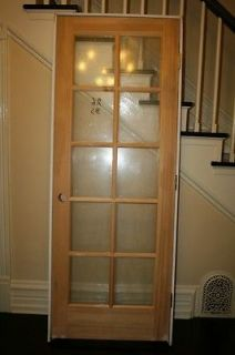 Glass Doors Interior French Frosted Glass Door 2 0 X 6 8 1 3 8 Thick Wood