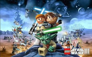 01 LEGO Star Wars III The Clone Game 22 Poster