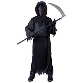 Kids Phantom Costume   Black Scary Halloween Costume