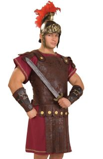 Greek Roman Guard Shield Chest Armor Adult Costume Accessory