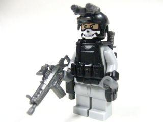 Lego custom   Marine Navy Seal Army Delta trooper Army Soldier Dessert