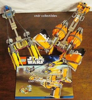 Lego Star Wars set 7962 ANAKINS & SEBULBAS PODRACERS 2 SHIPS only NO