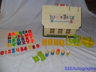 fisher price little people school house in Little People (1963 1996