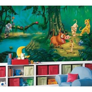 New XL LION KING WALL MURAL Disney Wallpaper Decor Lions Bedroom
