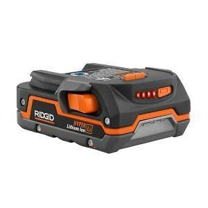 NEW RIDGID X4 LITHIUM ION 18V RECHARGABLE BATTERY R840085 ONLY COMPACT